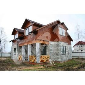 Строительство комбинированного дома (пеноблок-каркас) по индивидуальному проекту